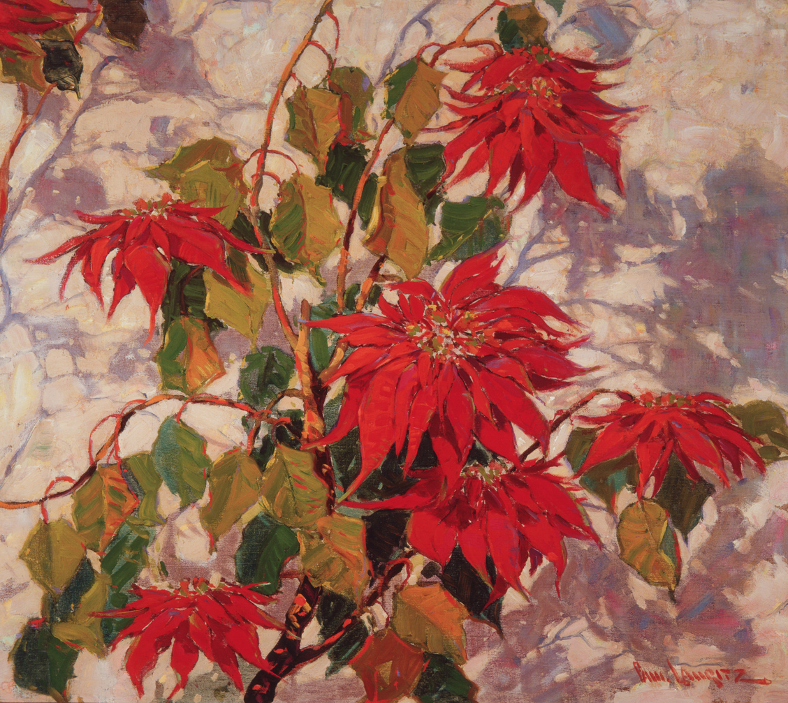 Poinsettia by Paul Lauritz